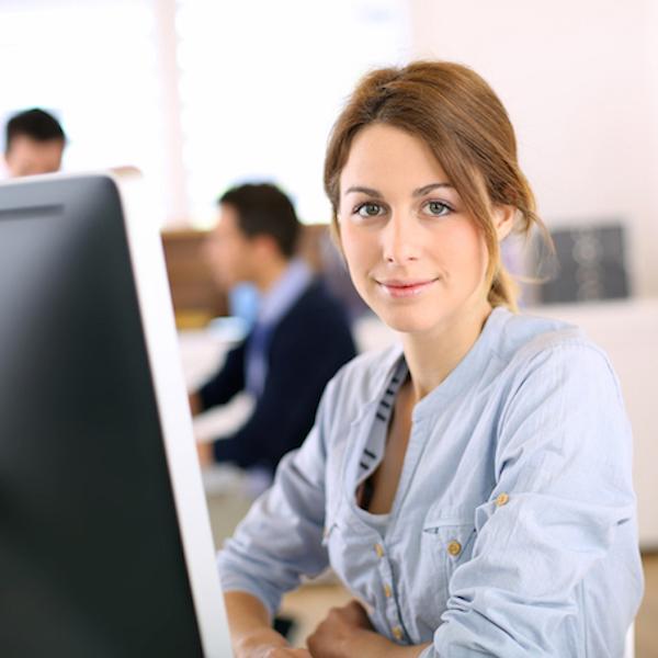 Bild vid dator